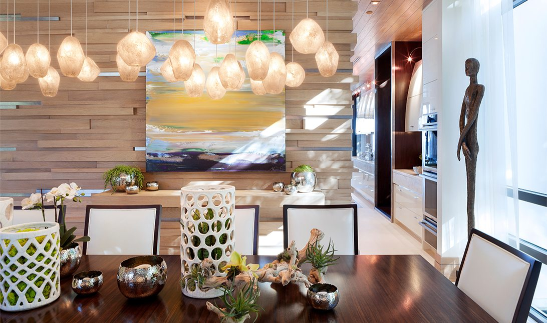 Marc Thee's 6 Ocean Modern Dining Room