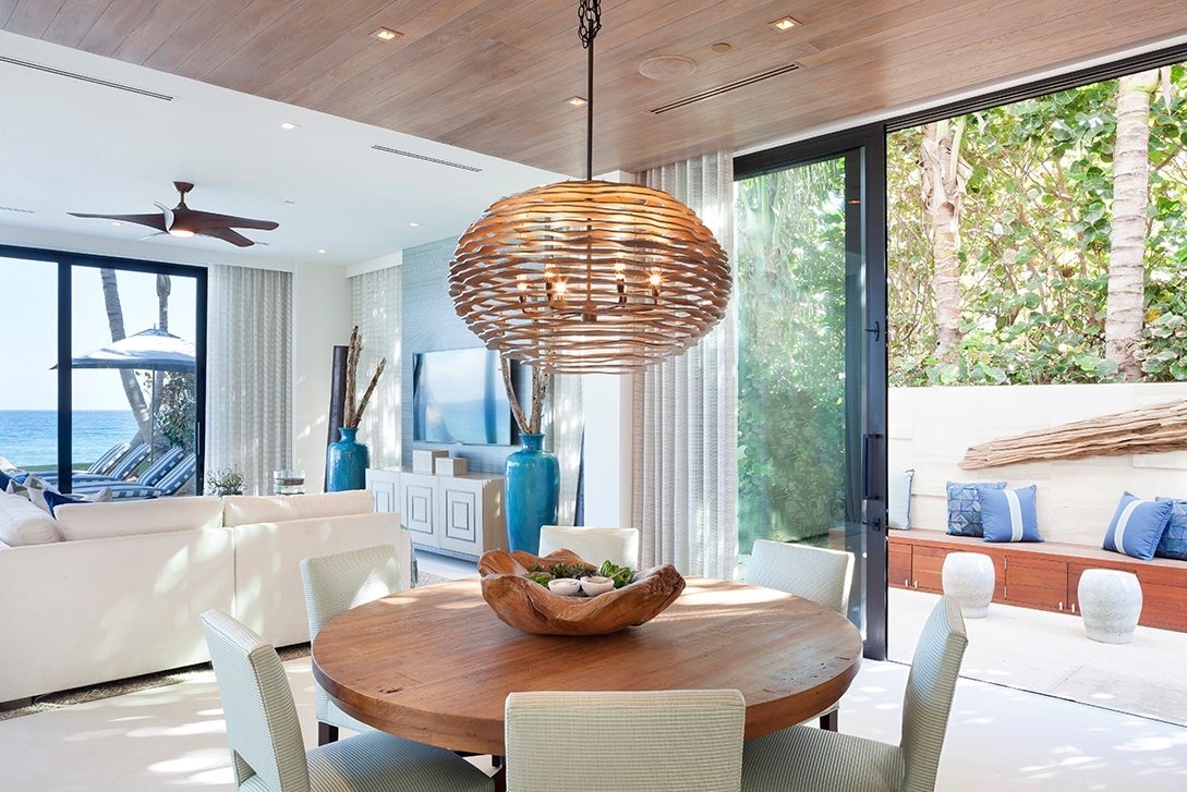 Marc Thee's 6 Ocean Modern Breakfast Room
