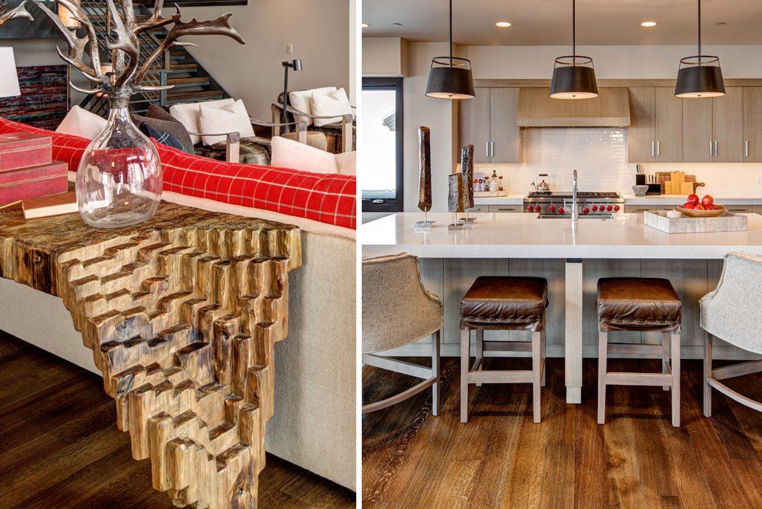 Marc-Michaels Rustic Modern Design Lodge Kitchen