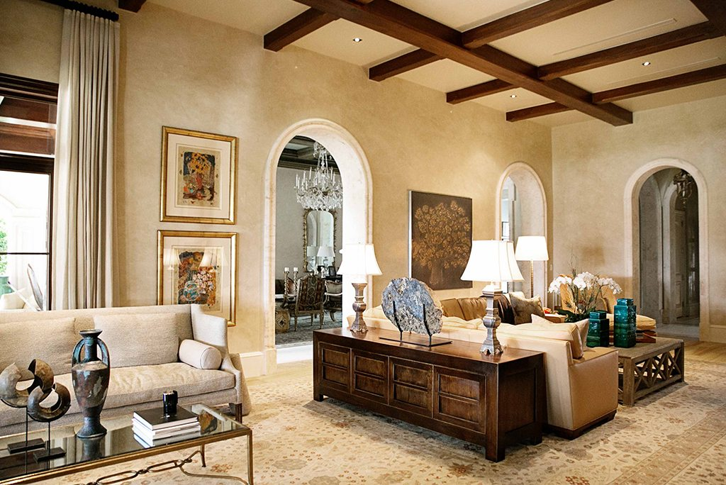 Timeless Traditional Living Room Design