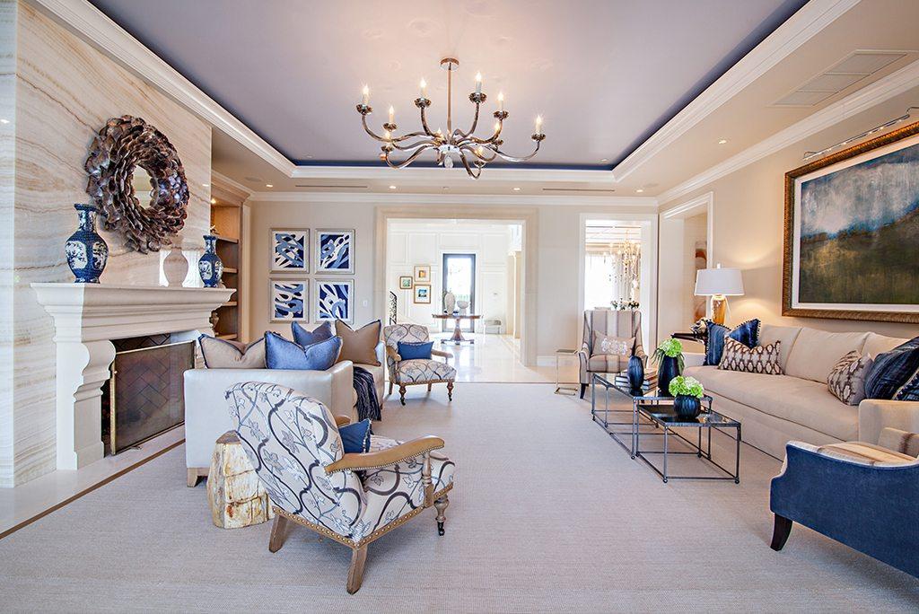 Transitional Design Living Room