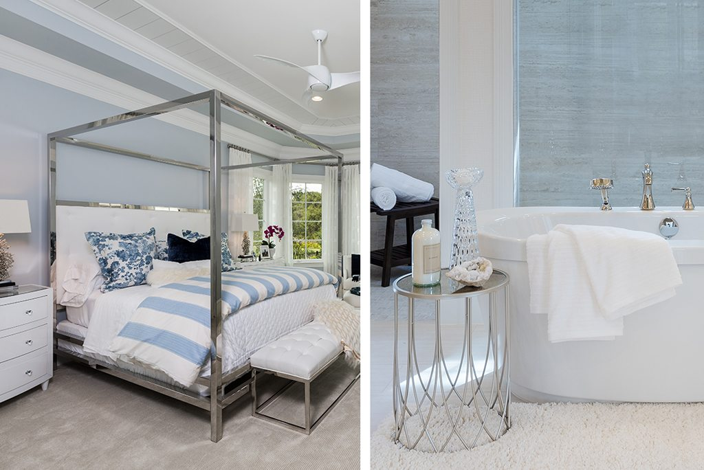 casually colonial design bed and bath