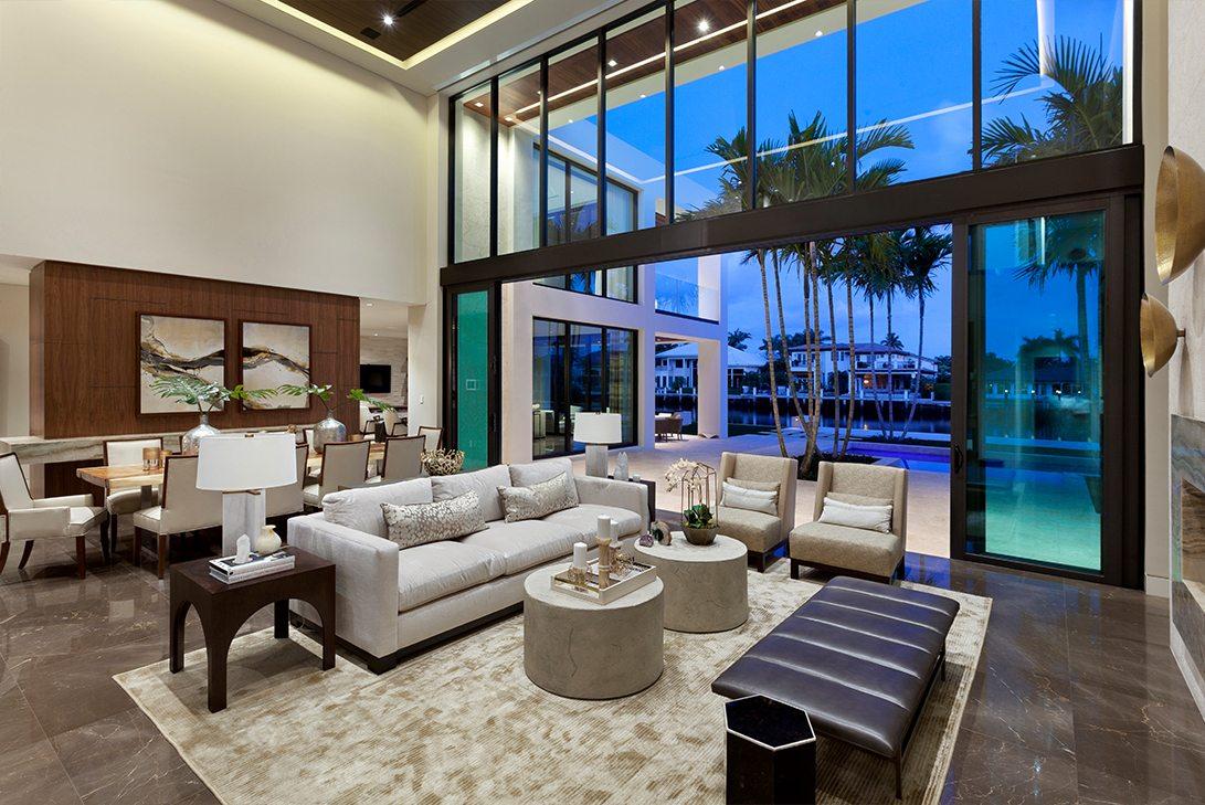 Gold Coast Contemporary MarcMichaels Interior Design