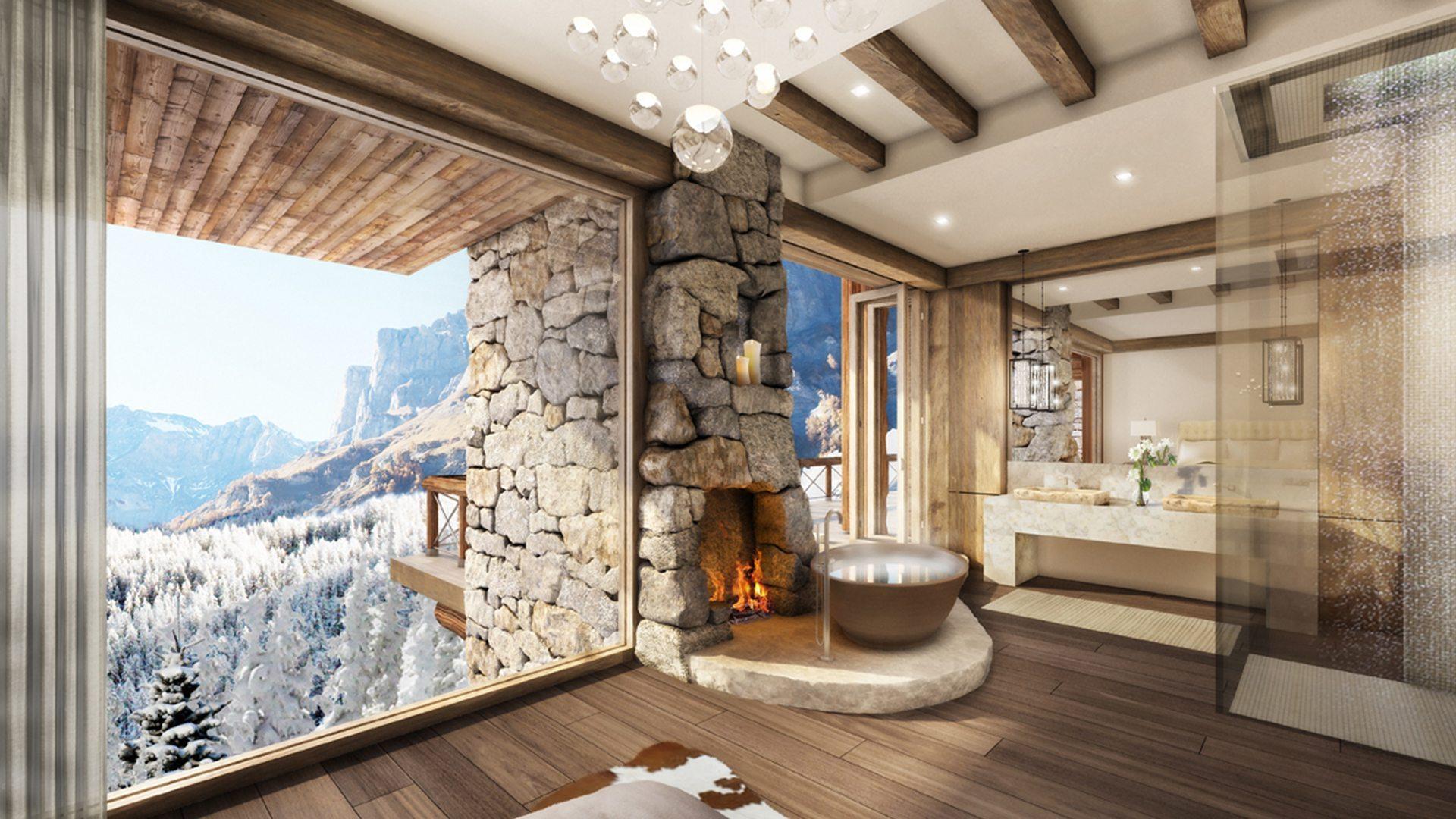 Marc-Michaels Leukerbad Switzerland Design Bathroom