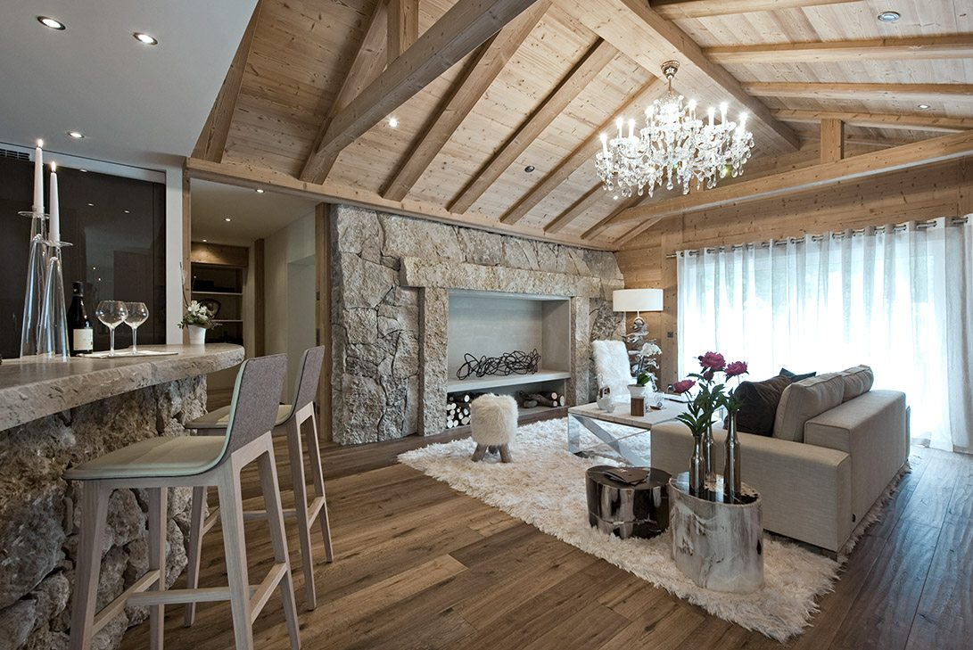 Marc-Michaels 51 degrees Leukerbad Switzerland Design Great Room