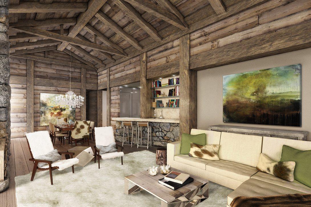 Marc-Michaels 51 degrees Leukerbad Switzerland Design Living Room