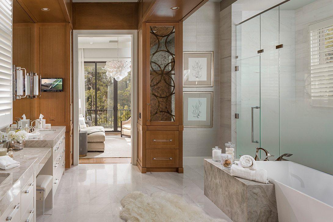 Marc-Michaels Golden Oak Design Bathroom