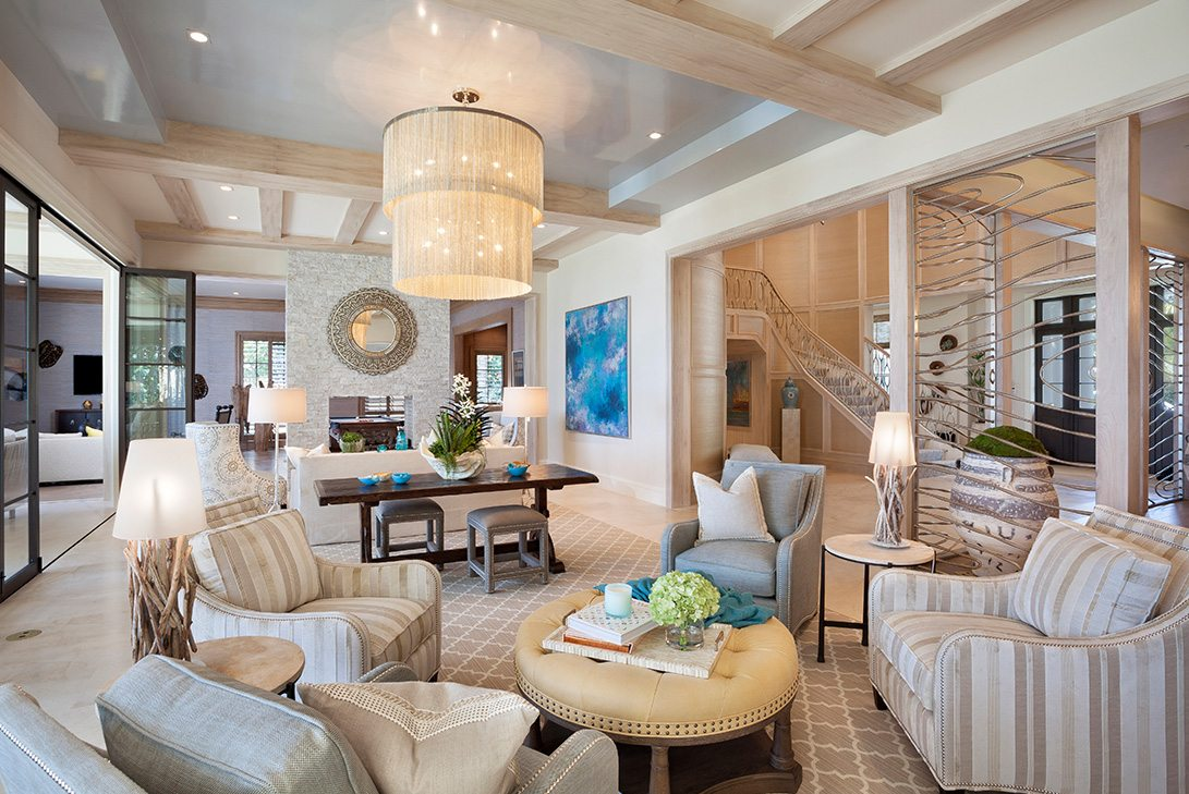 Luxury Transitional Interior Design Images Tropical Georgian Style