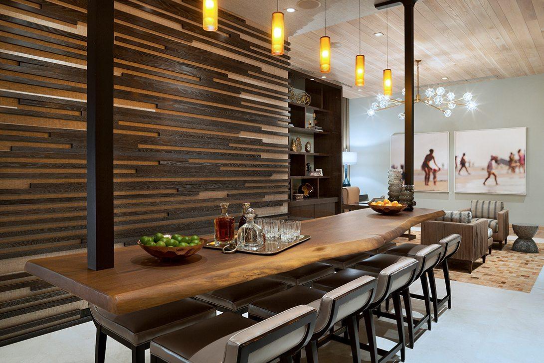 Marc-Michaels Ultra Modern Design Oceanfront Hillsboro Mile Estate Bar