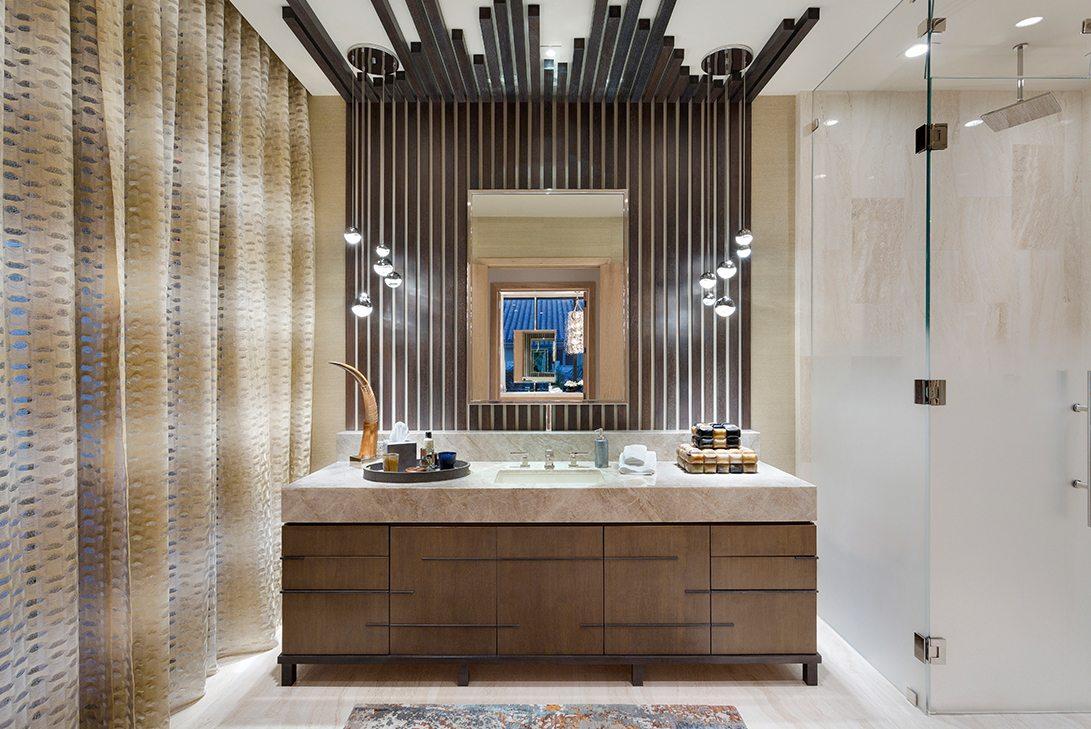 Ultra Modern Design Oceanfront Hillsboro Mile Estate Bathroom