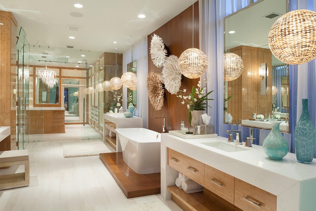 Spanish Style Bathroom Decorating Ideas: Marc-Michaels Interior Design