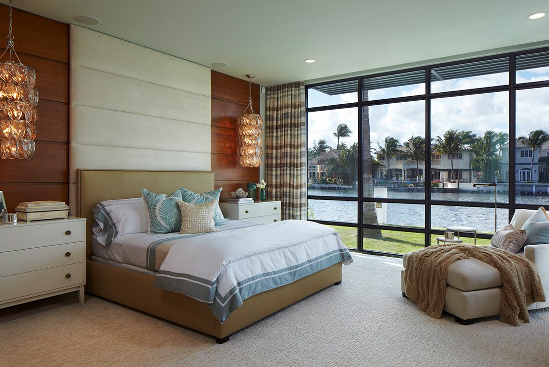 Marc-Michaels Modern Design Intracoastal Estate Bedoom