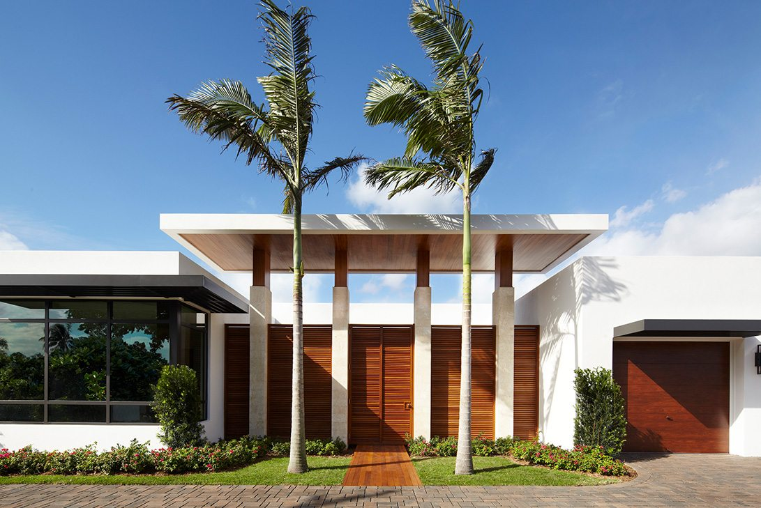 Marc-Michaels Modern Design Intracoastal Estate Exterior View