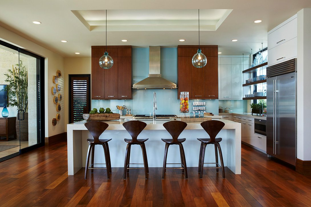 Marc-Michaels Modern Design Intracoastal Estate Kitchen
