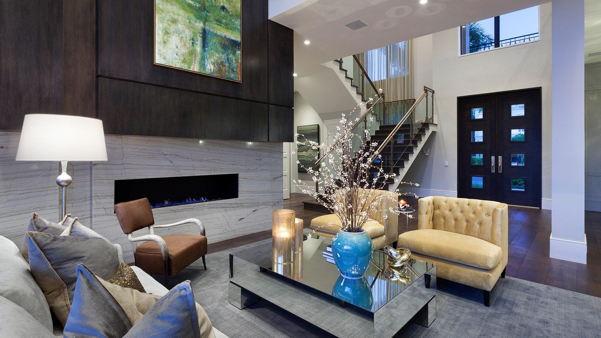 Marc-Michaels Modern Georgian Inspired Design Feature Room