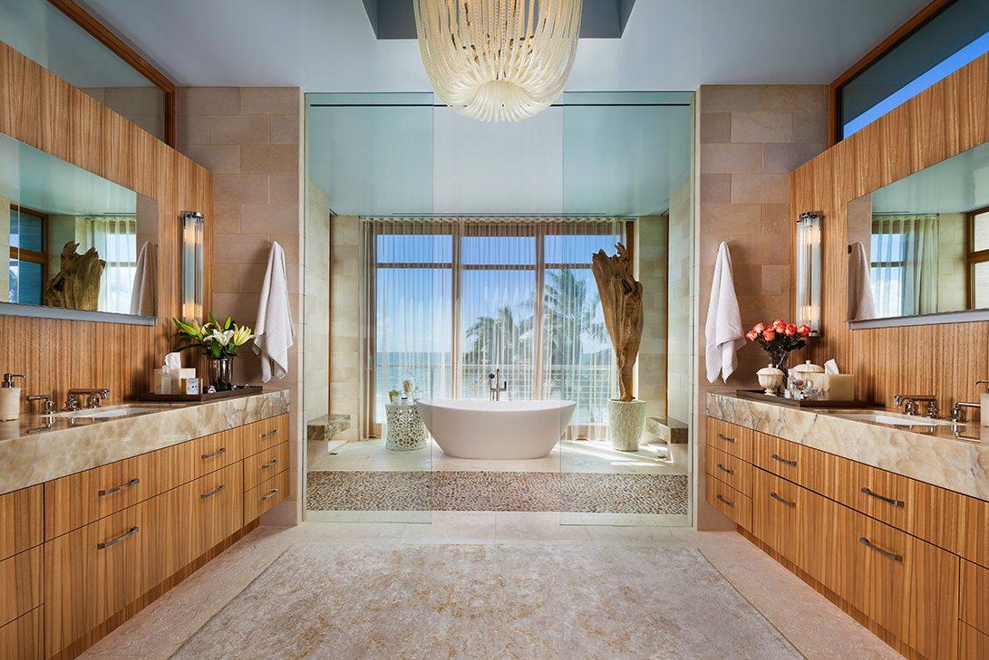 Marc-Michaels Modern Design Gulf Coast Estate Bath