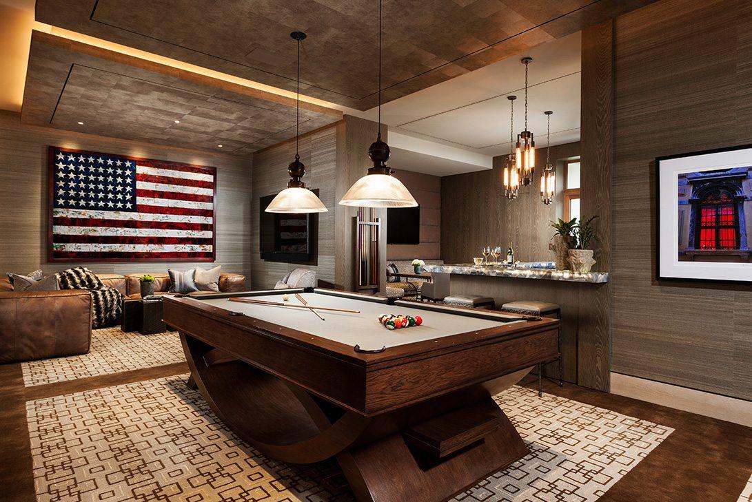Marc-Michaels Modern Design Gulf Coast Estate Club Room