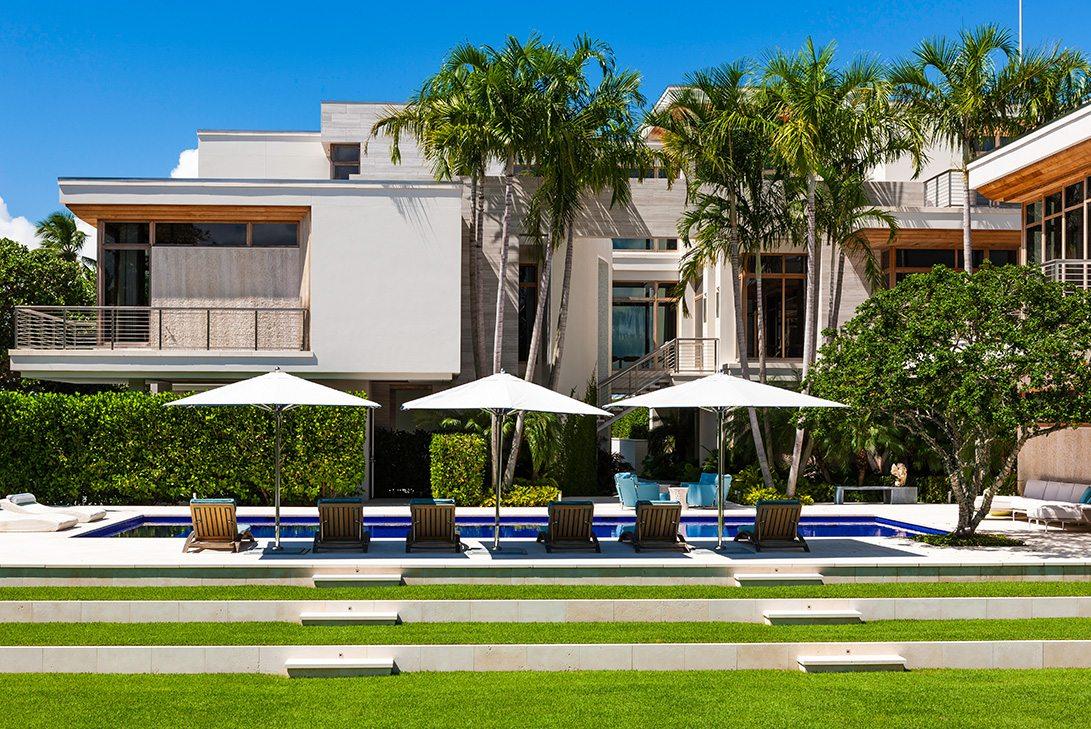 Marc-Michaels Modern Design Gulf Coast Estate Exterior
