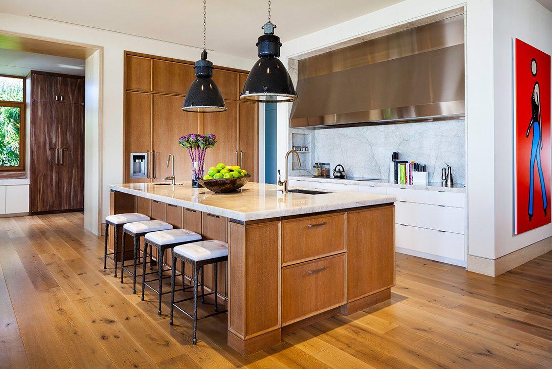 Marc-Michaels Modern Design Gulf Coast Estate Kitchen