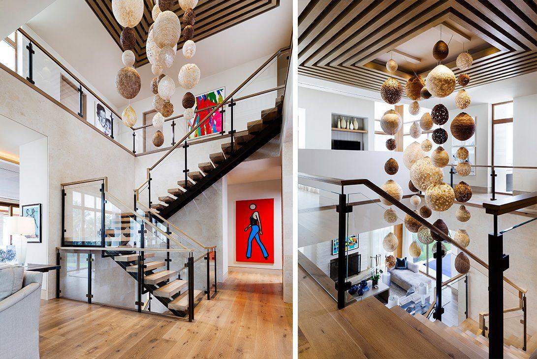 Marc-Michaels Modern Design Gulf Coast Estate Stairs