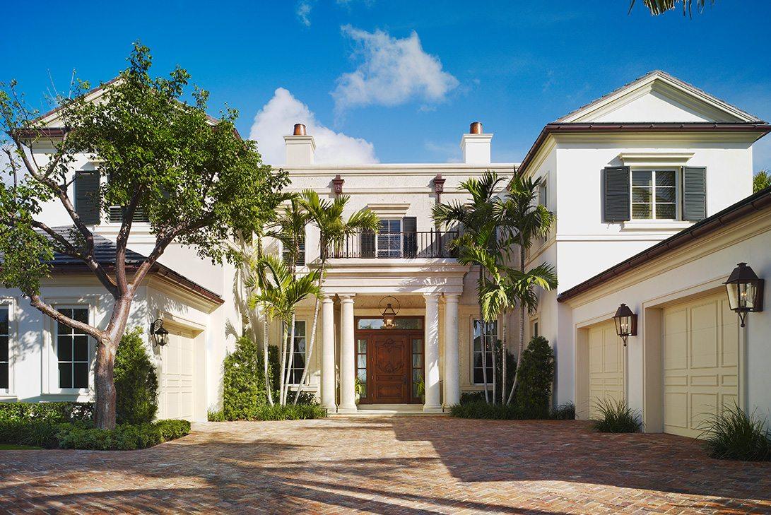 Marc-Michaels Palm Beach Traditional Design Home Exterior