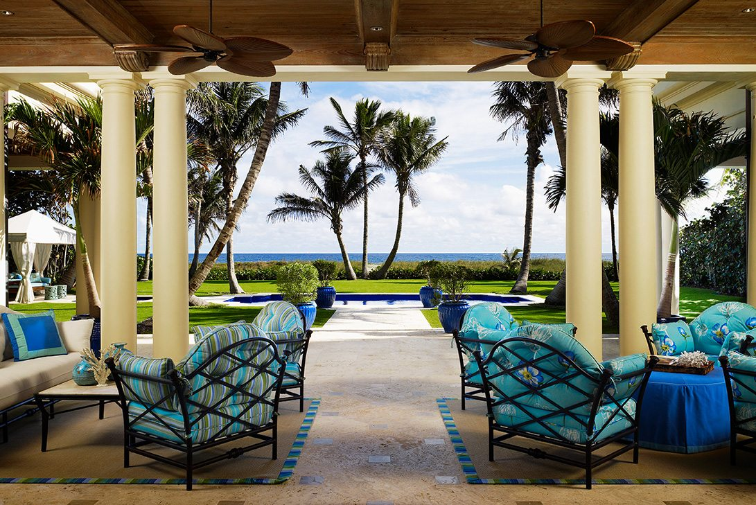 Traditional Design Patio in Palm Beach