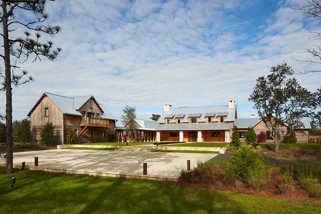 Contemporary Design Ranch Pine Creek Sporting Club Exterior Daytime View