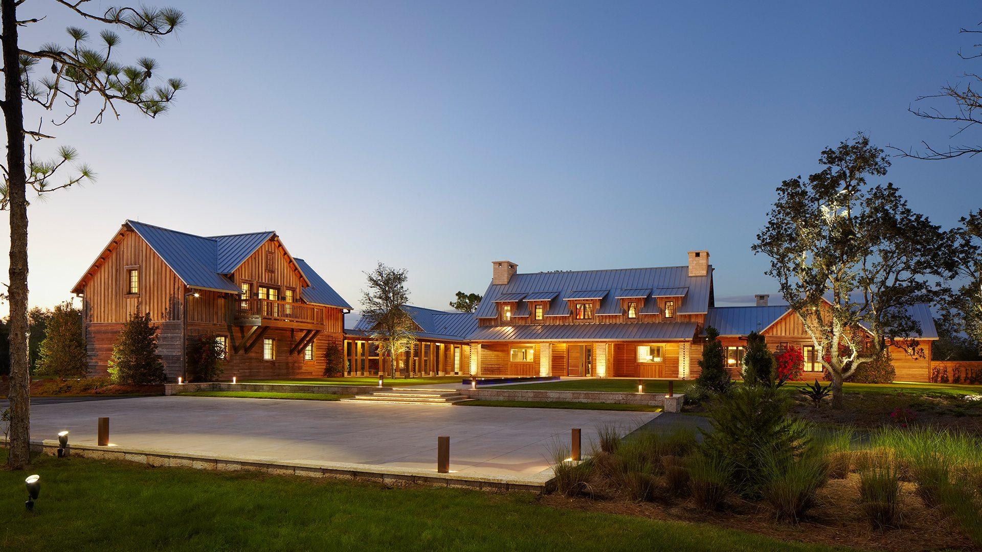 Contemporary Design Ranch Pine Creek Sporting Club Exterior View
