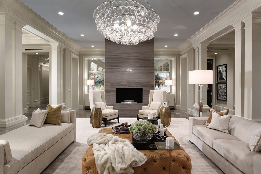 Sophisticated Transitional Interior Design Luxury