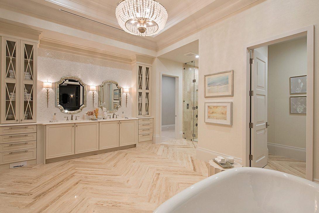 Marc-Michaels Modern Rustication Design Neapolitan Model Bath