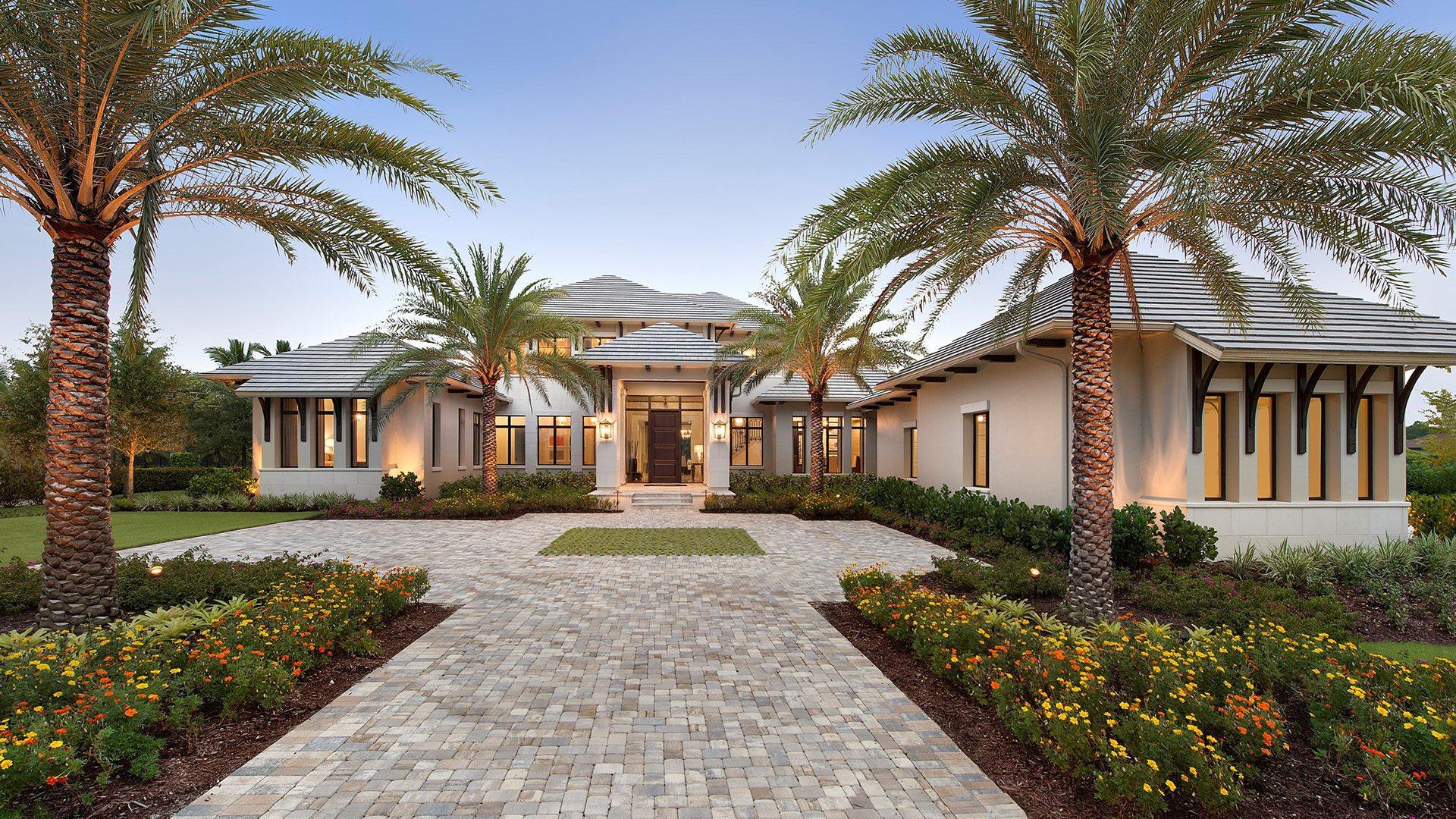 Modern Rustication Design Home Exterior
