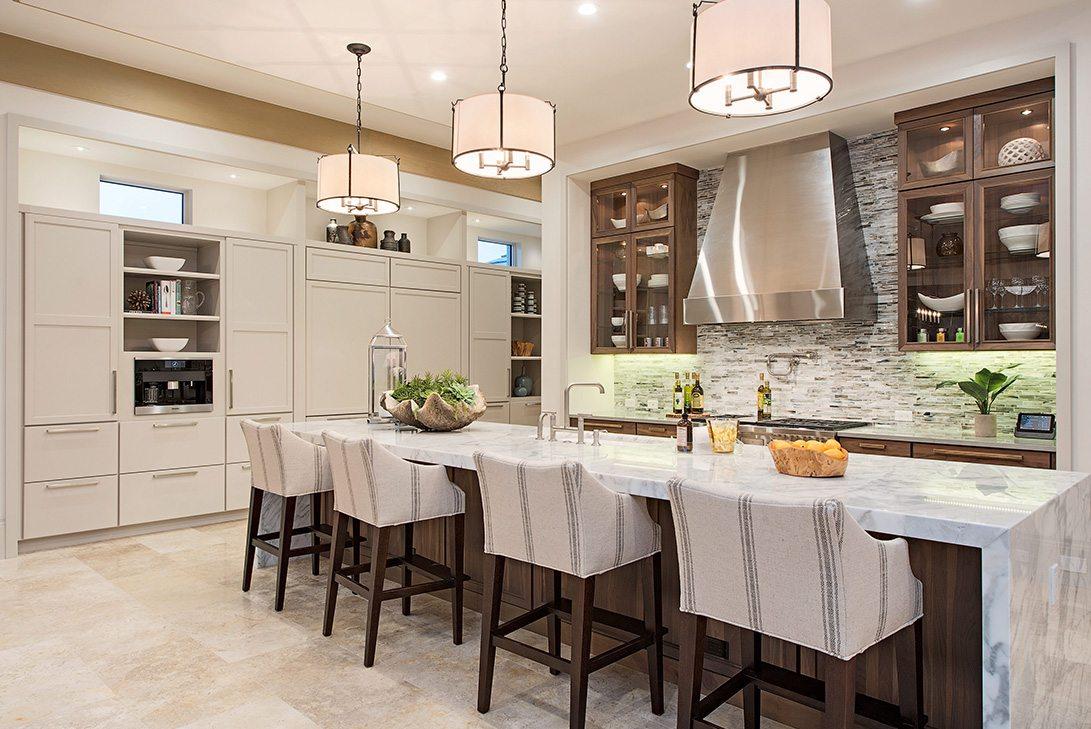 Modern Rustication Design Neapolitan Model Kitchen