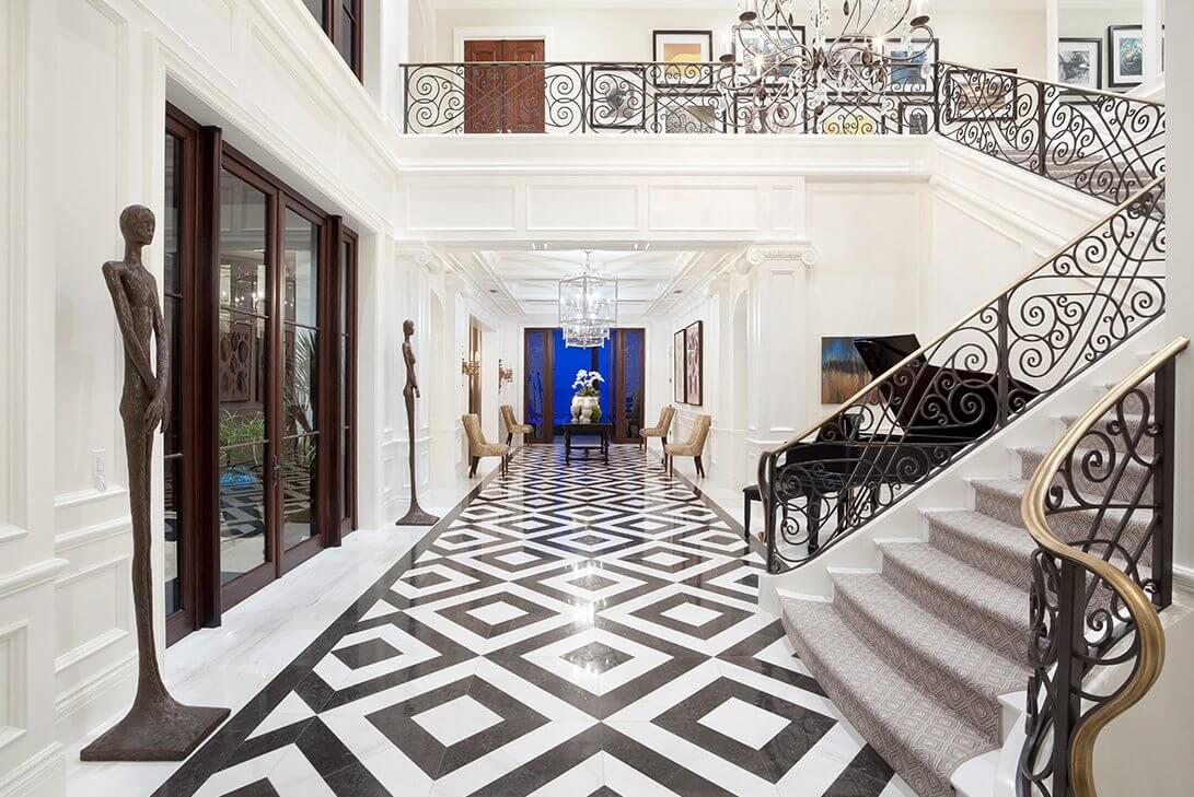 Traditional-Manalapan-Estate-Foyer