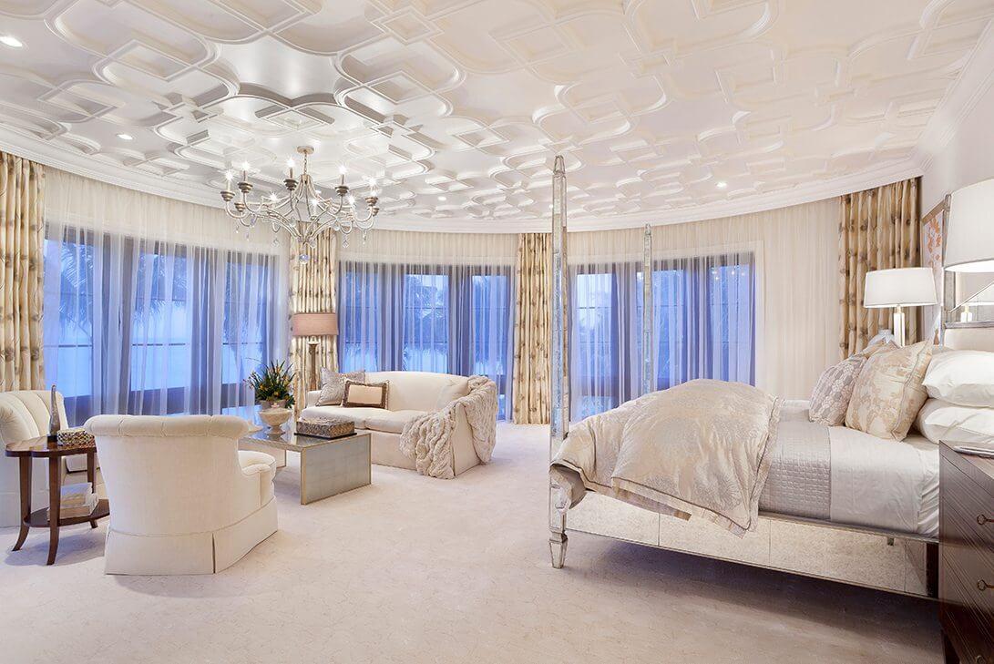 Traditional-Manalapan-Estate-Master-Bedroom