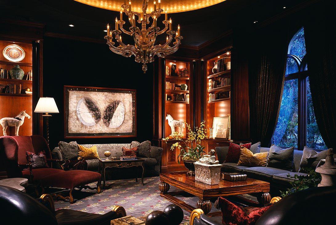 Marc-Michaels Venetian Design Elegance Study Room