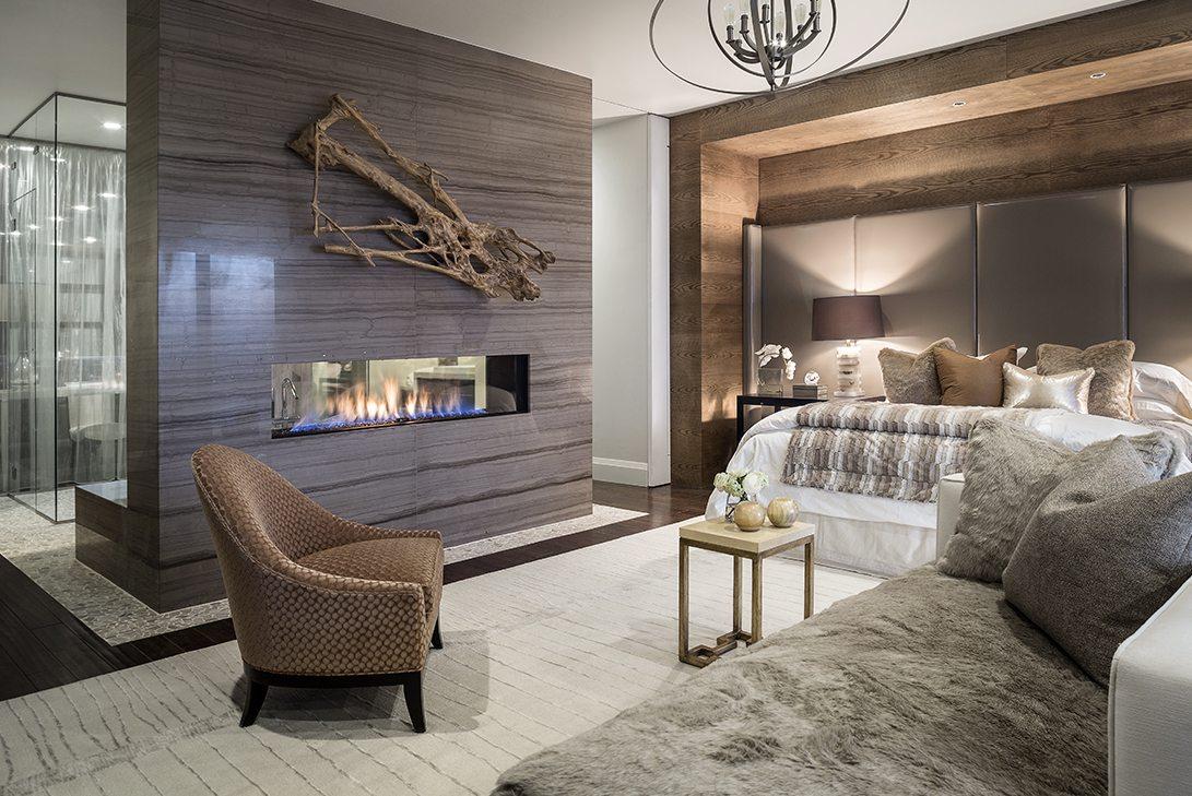 Marc-Michaels New American Home Design Bedroom