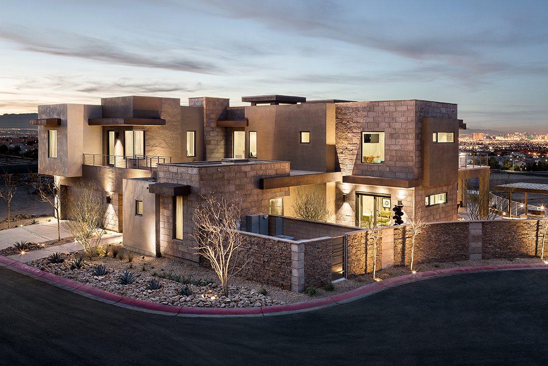 Marc-Michaels New American Home Design Exterior