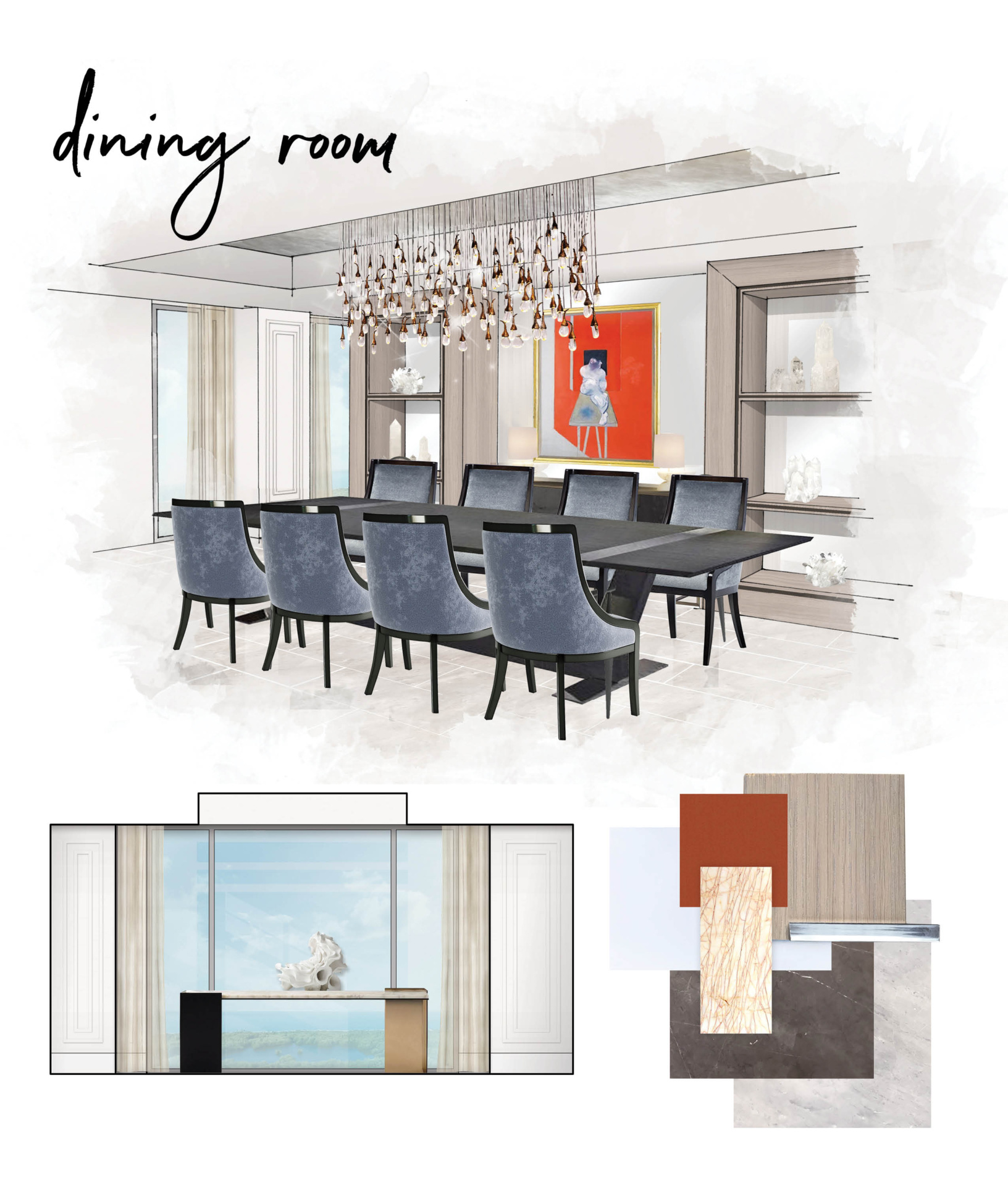 Mystique dining room