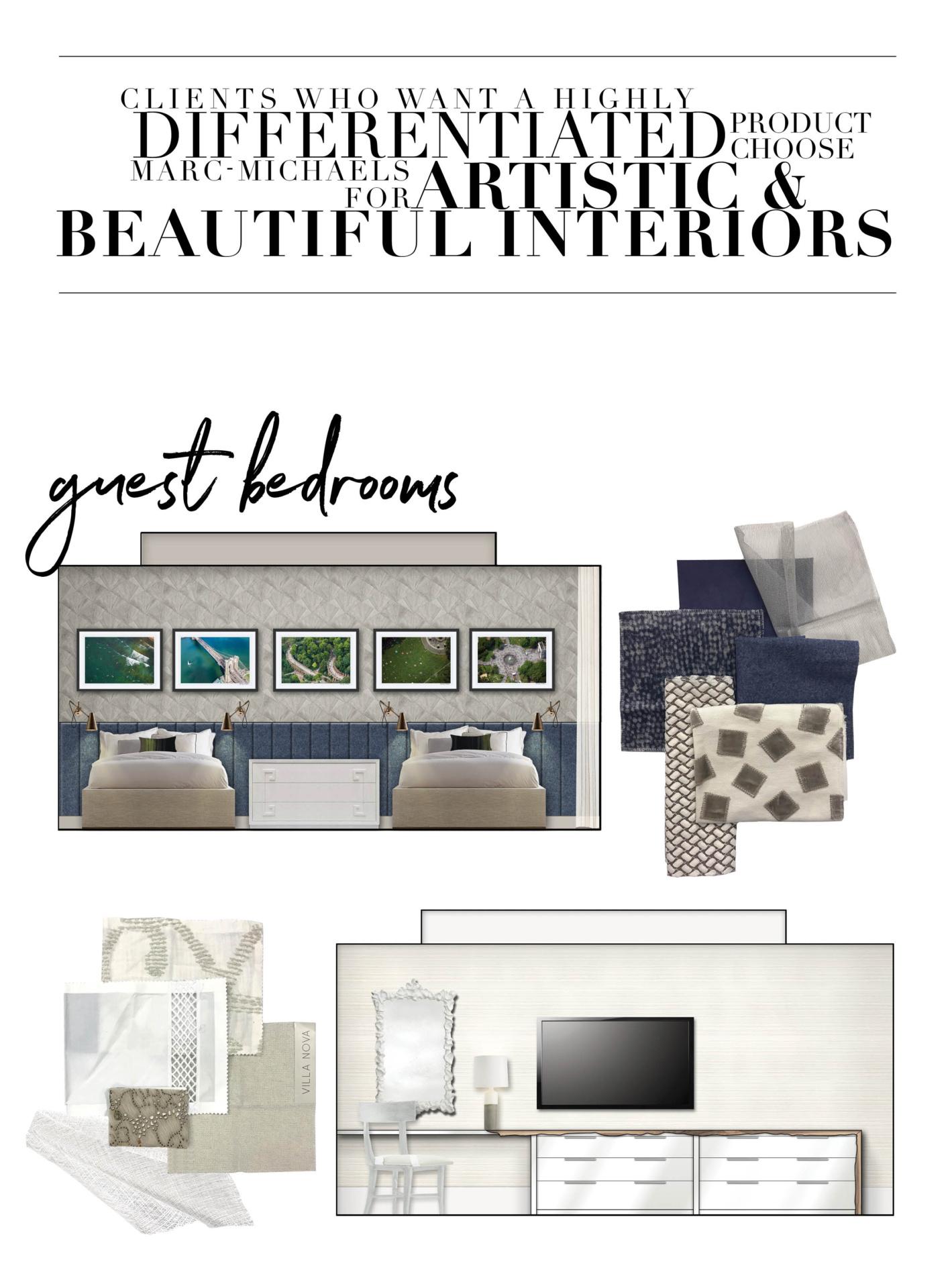 Mystique guest bedroom