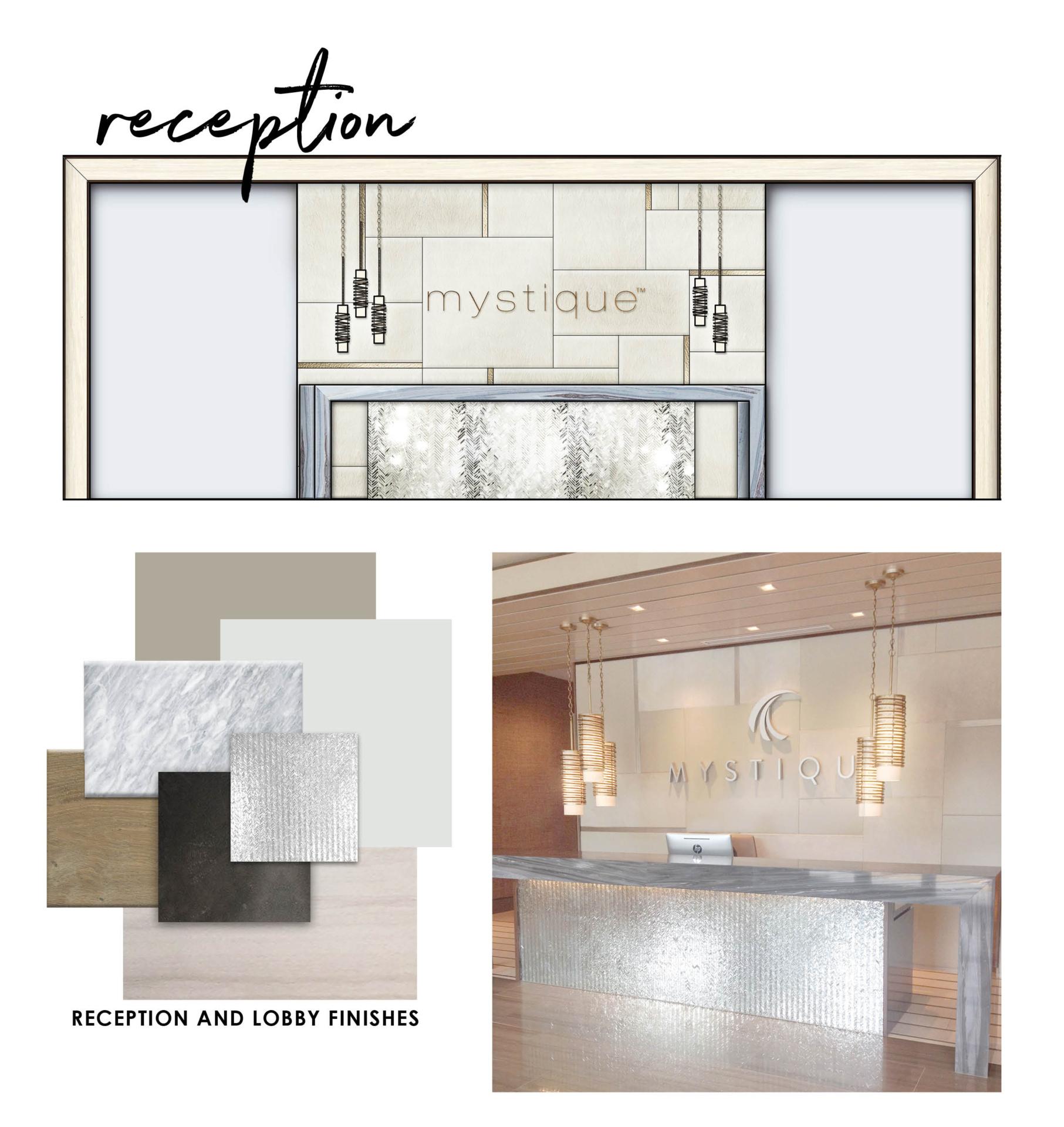 Mystique reception view