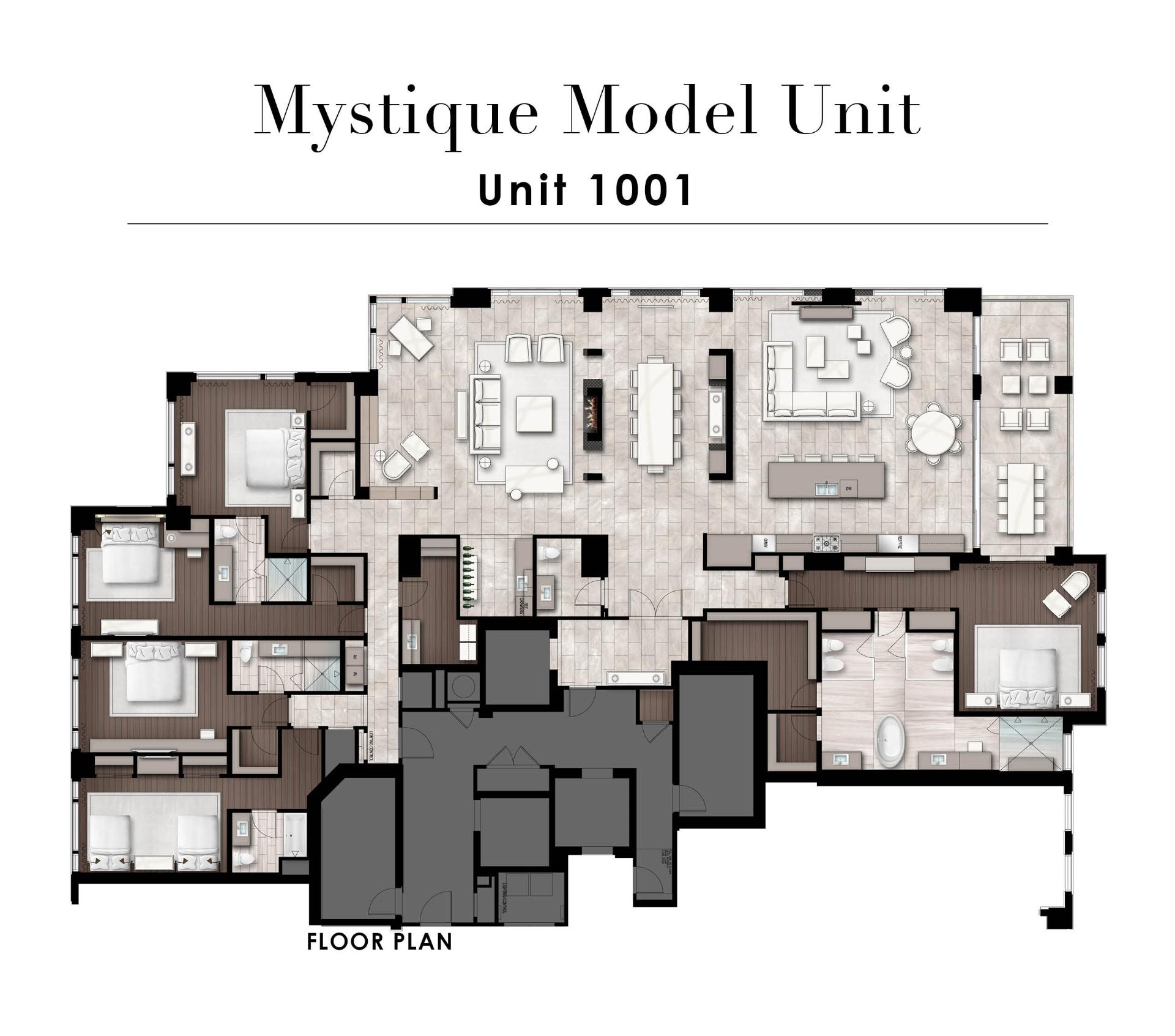 Mystique model unit