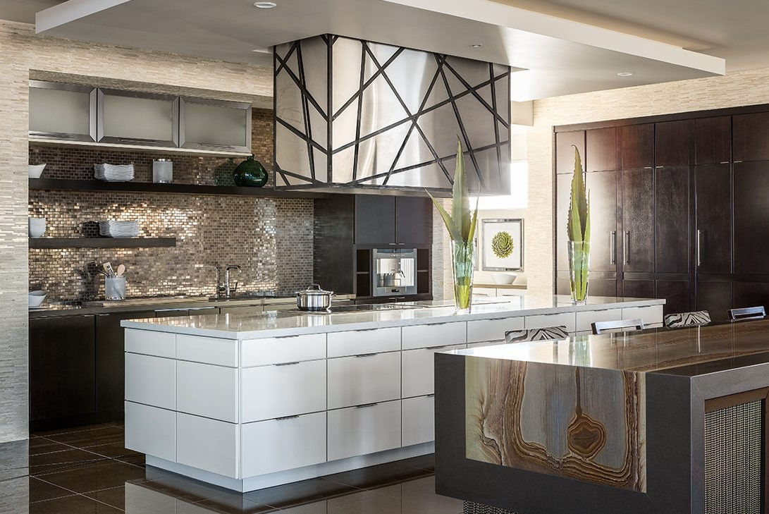 Modern Luxury Kitchen With Double Island