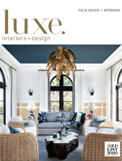 Luxe. magazine cover