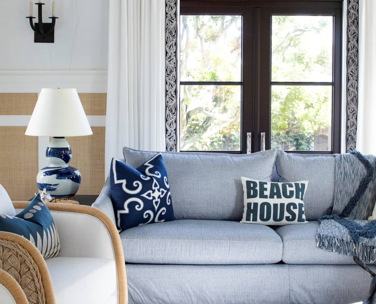 Room Designed With A Beach Texture